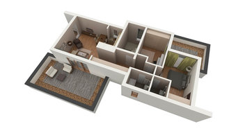 Still Images Featuring MyPad3D's Virtual Reality Solutions for the Home