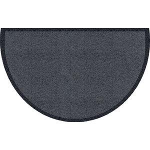 Curved Clean Keeper Doormat, Dark Grey