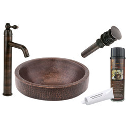 Traditional Bathroom Sinks by Premier Copper Products