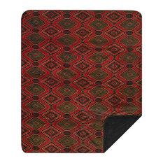 "Denali Navaho Wind/Pine Microplush Blanket 60""x72"""