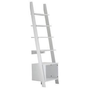 Vocal Ladder Shelf, White