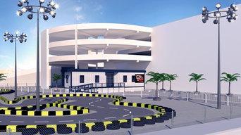 Go Kart Area Exterior Design