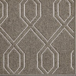 Fibreworks - Luxe Wool Area Rug, Paris Pewter, 8'x10' - Luxe by Fibreworks is an exclusive high fashion design in floor coverings.  Constructed of wool and simply bordered, this rug speaks the language of achievement.  Place this rug in a jewel box closet or grand entryway for maximum impact.  When Luxe is there, you have arrived.
