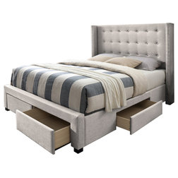 Contemporary Panel Beds by DG Casa