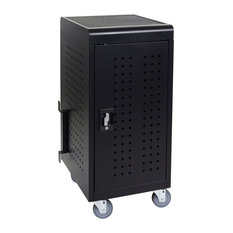 Luxor - Luxor 24 Tablet Storage Charging Cart - Office Carts and Stands