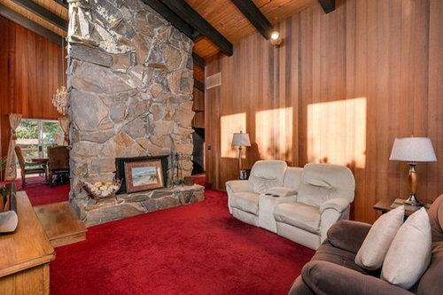Flooring For Interior Redwood Walls