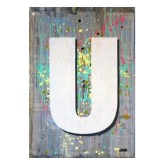 """""""U1"""",Spray Paint Painting"""