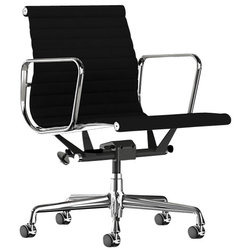 Vintage Midcentury Office Chairs Herman Miller Eames Aluminum Management Chair