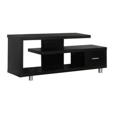 60-inch TV Stand With 1 Drawer Cappuccino