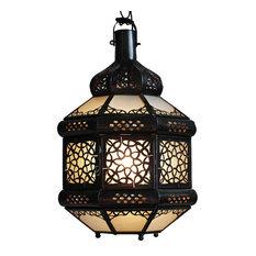 Design Mix Furniture   White Etched Sun Moroccan Lantern   Pendant Lighting