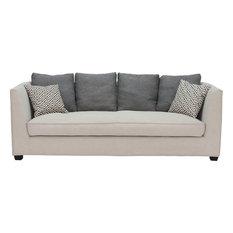 Moeu0027s Home Collection   Watson Sofa, Cappuccino   Sofas