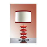 Onyx Red Table Lamp - 60W/20W LE E27