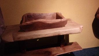 Oak washbasin