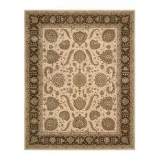 Nourison Heritage Hall 100 Wool Beige Hand Tufted Rug He19 6