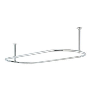 Oval Shower Curtain Rail