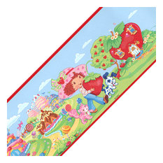 Strawberry Shortcake 12ft Self Stick Wall Border Accent Roll