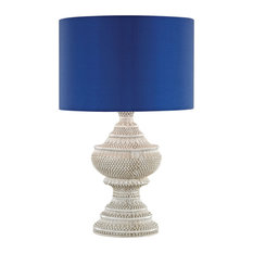 Dimond Kokopo Outdoor Table Lamp With Ultramarine Shade