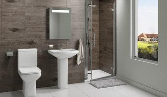Trim Bathroom En-Suite with Sliding Shower Door - 1000mm