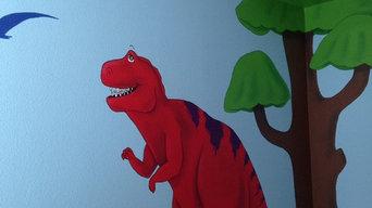 Child's Dinosaur Room