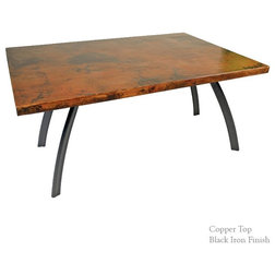 Luxury Industrial Dining Tables by Timeless Wrought Iron