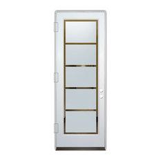 Sans Soucie Art Glass - Glass Front Entry Door Sans Soucie Art Glass Grand Tall - Front Doors