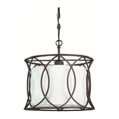 canarm canarm monica 1light pendant oil rubbed bronze pendant lighting - Bronze Pendant Light