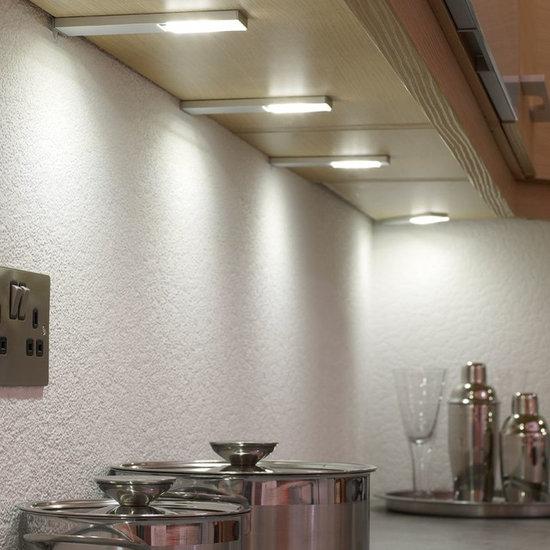 dimmable quadra led pad under cabinet spotlight undercabinet lighting. Interior Design Ideas. Home Design Ideas