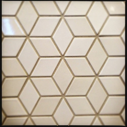 Does Anyone Know What This Is Or Of Something Similar I M Looking For A Soft White Tile Backsplash That Not Rectangular Subway