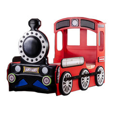 Locomotive Toddler Car Bed