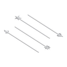 B2Q - 4 Piece Nautical Skewers - Grill Tools & Accessories