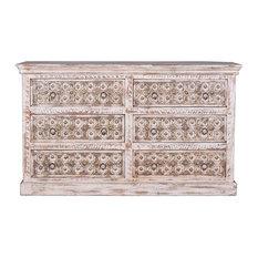 Bakra 6-Drawer Sideboard