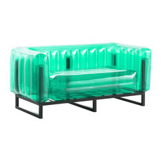 Yomi Inflatable Love Seat, Green