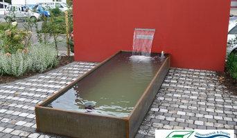 Wasserbeckenbau mit unserem CortPlus-Beckensystem