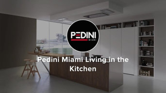 Company Highlight Video by Pedini Miami Living in the Kitchen