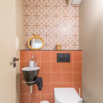 Création d'un toilette