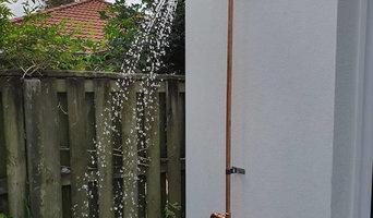 Copper Industrial look Outdoor Shower