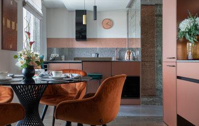 Проект недели: Яркая кухня в квартире-шкатулке