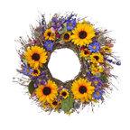 Sunflower Bouquet Wreath, Small