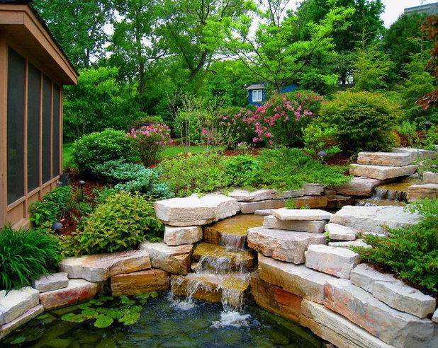 Rustic Garden Asian Landscape