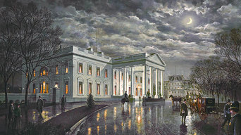 """The White House by Moonlight"" by Paul McGehee"
