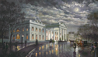 """""""The White House by Moonlight"""" by Paul McGehee"""