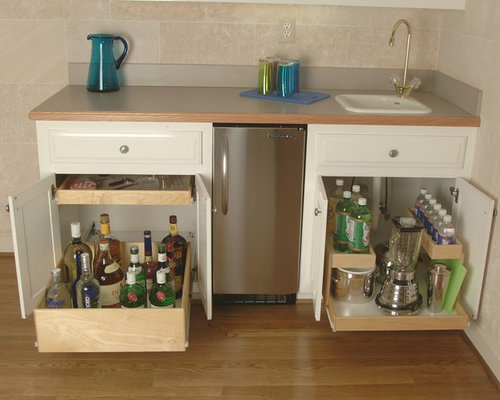 Pull Out Shelves For Your Wet Bar Or Liquor Cabinet   Products