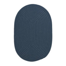 Colonial Mills, Inc - Colonial Mills Boca Raton BR57 Lake Blue 9' x 9' Round - Outdoor Rugs