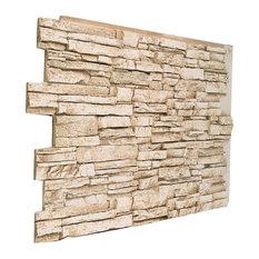 Small Jerusalem Brick Wall Panel  Almond