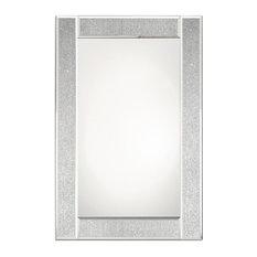 Glitter Ascot Glass Mirror, 60x90 cm