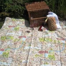 Outdoor rugs large picnic blanket london map outdoor rugs gumiabroncs Image collections