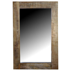Rustic Wall Mirrors by Eco India Direct