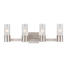 Midtown Bath Light, Brushed Nickel