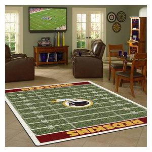 185bea9e Arizona Cardinals NFL Football Field Rug - Contemporary - Novelty ...
