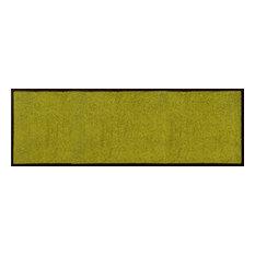 Easy Clean Doormat, Green, Large